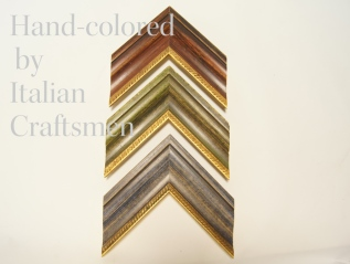 イタリアの職人による手彩色